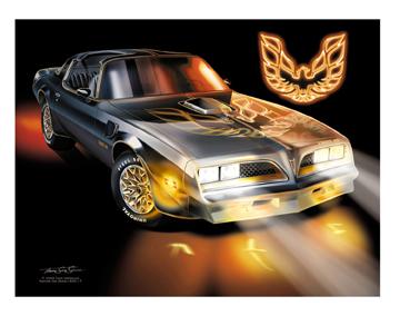 Www Americanautoart Com 1967 2002 Pontiac Trans Am