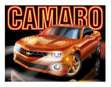5th Gen Orange Camaros