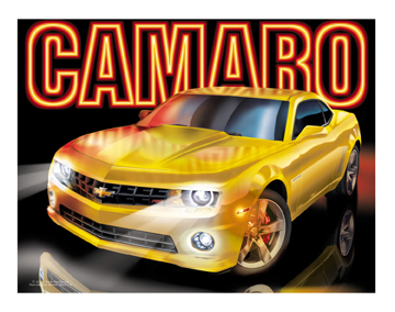 5th Gen Yellow Camaros
